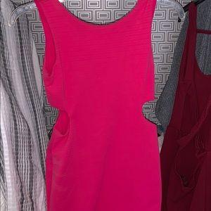 Dresses - Hot pink cocktail dress